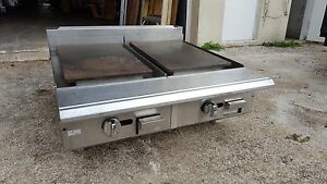Dual Surface French Flat Top Griddle Unique Rare Dual Surface Gas Griddle