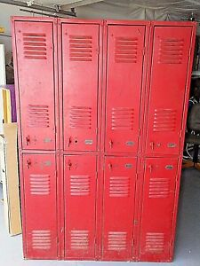 1920 s Berger Gym Locker Room School Industrial Offers Accepted
