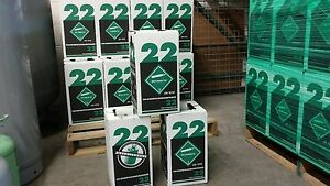 R22 Refrigerant 15 Lb New Factory Sealed Virgin Made In Usa Same Day Shipping