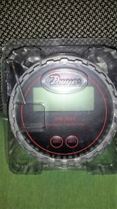 Dwyer Dm 2002 lcd Differential Pressure Transmitter With Digital Display 0 100