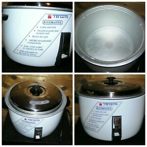 Town Rice Master Cooker Lg Steamer Restaurant Catering Commercial Kitchen Equip