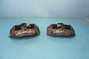 2005 Porsche Cayenne Base 3 2l 6 Front Right And Left Brake Calipers Oem