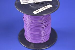 500 Buse Industries Violet 14 Gauge Awg Electrical Wire Awm 1164