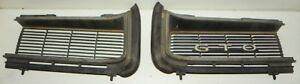 1968 Gto Original Gm Grill Set All Mount Points Intact