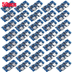 50x Power Bank Charger Board Charger Circuit Step Up Module Dual Usb Output 5v