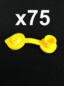 75 Yellow Vents Replacement Cap Air Gas Can Fuel Jug Blitz Wedco Scepter Midwest