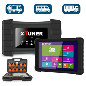 Heavy Duty Truck Scanner Xtuner T1 Code Reader Diagnostic Srs Abs Dpf Tpms Reset