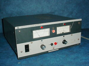 Kepco Aph500m High Voltage Auto Crossover Stabilized Power Supply 500vdc 40ma