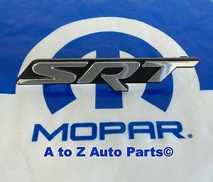 New 2015 2018 Dodge Charger Srt Grille Emblem Nameplate Oem Mopar