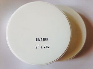 Dental Zirconia 98x12mm High Translucent