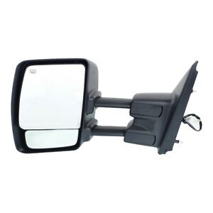 Power Heated Chrome Cap Mirror Lh Left Driver For Nissan Nv 1500 2500 3500