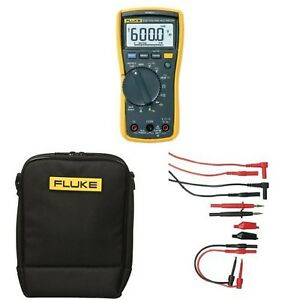 Fluke 117 Electricians True Rms Multimeter With Polyester Soft Carrying C New