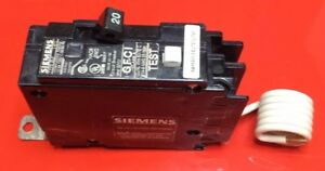 New Circuit Breaker Siemens Bf120 20 Amp 1 Pole 120v Bolt On Gfci Blf