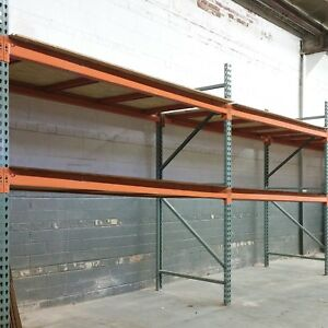 Interlake Pallet Racking 96 X 42 X 96 Hi Cap Lbs Add On To 40 Ft Vg Excel