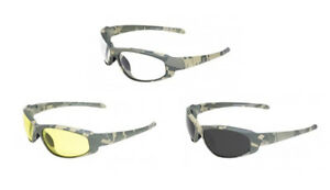 Global Vision Hercules 2 Digi Camo Safety Glasses Ansi Z87 1 2010
