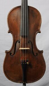 Nice Old Antique 4 4 Violin Labeled B F Ferguson Fayette Mo One Piece Back