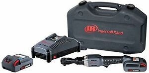 Ingersoll Rand R3150 k22 Cordless Ratchet With 2 Li on Batteries Charger New