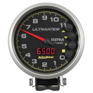 Autometer 6888 Ultimate Plus Playback Tachometer 5 11000 Rpm Racing Hot Rod
