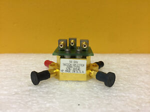 Hp Agilent 5086 7570 Dc To 50 Ghz 2 4mm Coaxial Switch Splitter Assembly