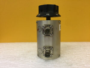 Kay 436 Dc To 1 3 Ghz 0 To 70 Db Bnc f Rotary Step Attenuator Tested