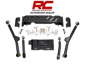 84 01 Jeep Xj Cherokee 4wd Rough Country 4 6 Long Arm Upgrade Kit 231 68900u