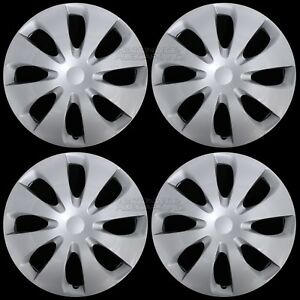 Set Of 4 New 2012 2016 Toyota Prius C 15 Wheel Covers Hub Caps Full Rim Skins