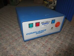 Compliance West Gf 30ac Industrial 30 Amp Ground Current Tester Bench Type