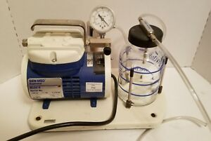 Genmed A Aspirator With 750 Cc Reservoir Medical Surgical Vacuum Suction Pump