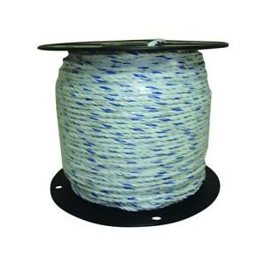 Polyrope Wire Electric Horse Fencing Livestock Pastures Wildlife Conductivity
