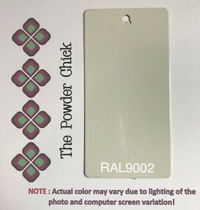 Ral 9002 49 70520 Grey White Powder Coating Paint 4lb 11oz Bag New