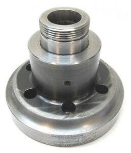 Ats 5c Collet Chuck Cnc Lathe Threaded Nosepiece W A2 5 Mount a5 5cb