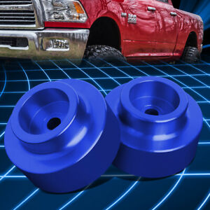 For 09 18 Dodge Ram 1500 1 5 raise Rear Low Mount Leveling Lift Kit Spacers Blue