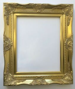 Picture Frame 16x20 Vintage Antique Style Baroque Classic Gold Ornate 6996g
