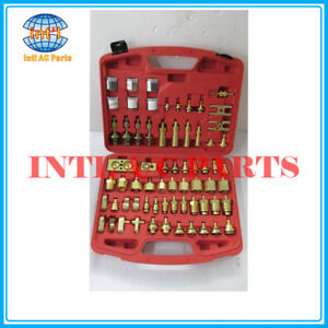 Auto Air Conditioning Leak Detection Tool plugging testing Connector Repair Kit