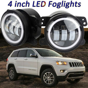 4 Inch 30w Led Round Fog Lights Driving Lamp For Jeep Grand Cherokee 2011 2013