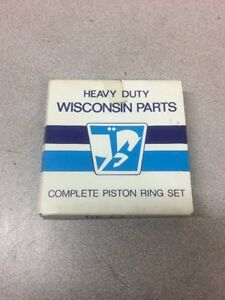 New Wisconsin Teledyne Engine Parts Complete Piston Ring Set Dr 64