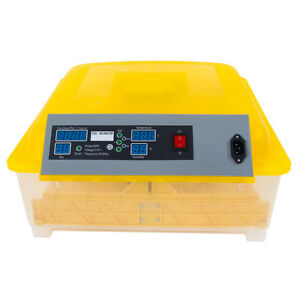 48egg Incubator Digital Automatic Turner Hatcher Egg Temperature Control 110v