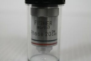 Fisher Phase 20 Dm 0 40 160 0 17 Objective