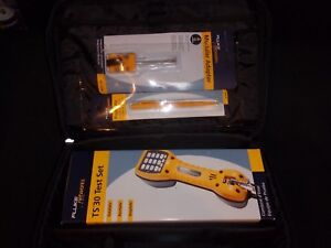 Fluke Networks Ts30 Butt Set Telecom Field Electricians Kit