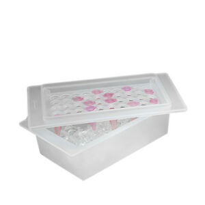 17 Oz Microcentrifuge Tube Ice Rack tray With 50 Places