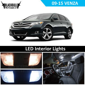 White Led Interior Light Accessories Kit Map Dome For 2009 2016 Toyota Venza 12x