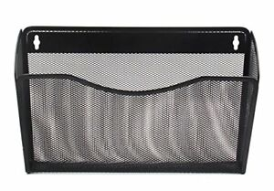 Easypag Mesh Collection Wall File Pocket Holder Organizer Metal For Office