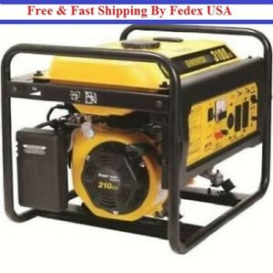 Be Powerease 3100 Watt Portable Generator 210cc Recoil Start Gasoline Engine