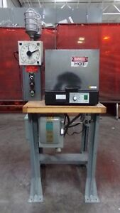 Vulcan A 550 Burnout Furnace Oven 2000 Degrees F W Timer Controls And Table