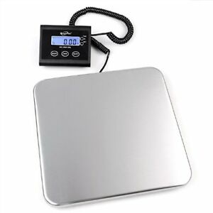 330lb Industrial Postal Floor Weight Scales Electronic Digital Package New