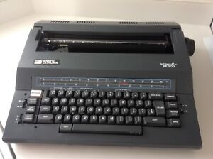 Smith Corona Se 200 Spell Right I Electric Typewriter Carry Case tested