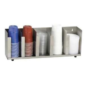 Dispense rite Ctld 22a S s Cup And Lid Organizer