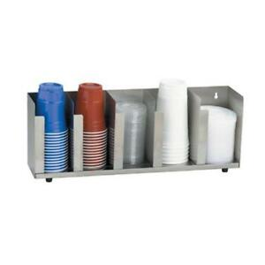Dispense rite Ctld 22 5 section Adjustable Cup lid Dispenser
