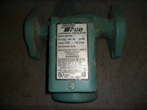 Used Taco 007 f5 Cast Iron Circulator Pump 120 Volt 1 25 Hp