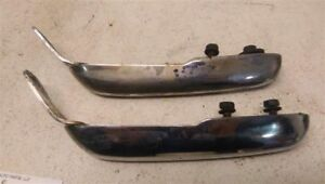 Pair Of Rear Bumper Guards For 1968 Dodge Charger